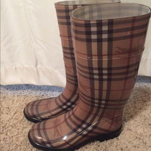 Brand New Burberry Rain Boots